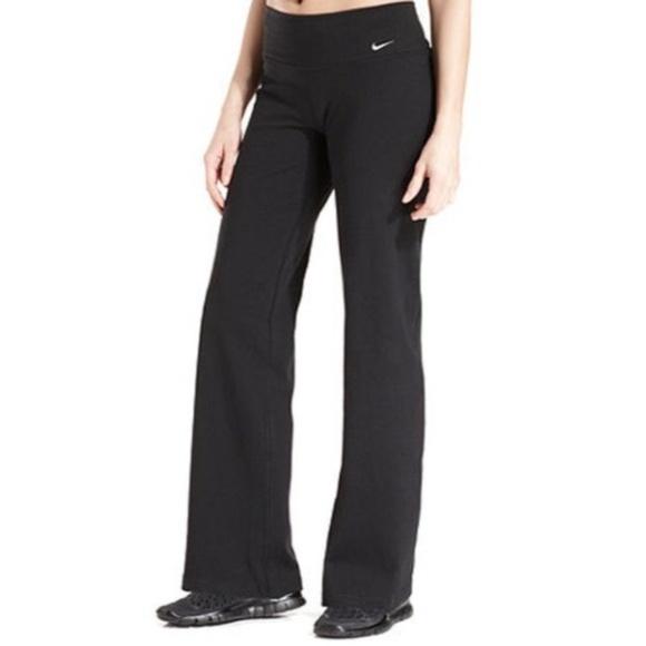 Fit Dry Black Flare Yoga Xs